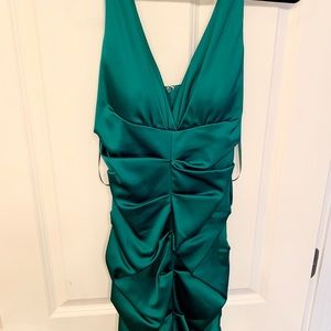 Never worn Cache evening dress with tags